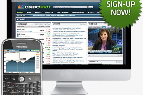 CNBC announces the launch of CNBC Pro for BlackBerry