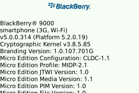 Leaked: OS 5.0.0.314 for Bold 9000 and Curve 8900