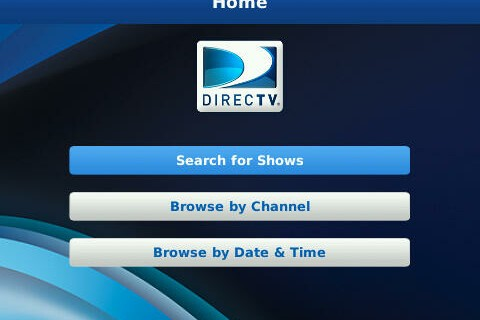 DIRECTV DVR Scheduler App Now Available for BlackBerry Smartphones