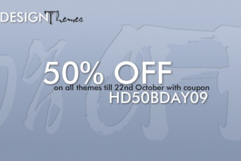 All Hedone Design Themes 50% Through October 22nd