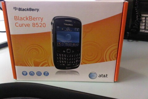 AT&T BlackBerry Curve 8520 Units Arriving in Stores?!!