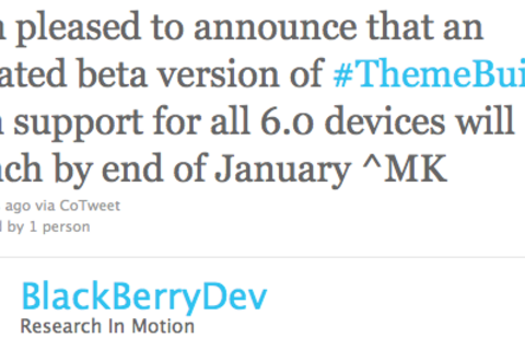 Updated theme builder coming by the end of January - Includes support for all OS 6 devices