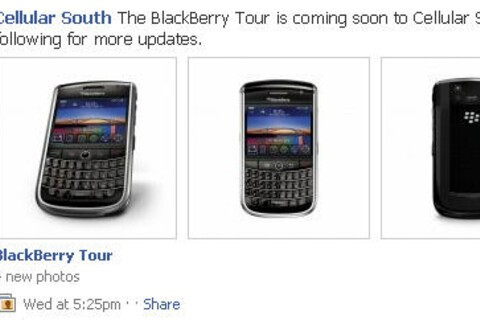 BlackBerry Tour Coming Soon To Cellular South