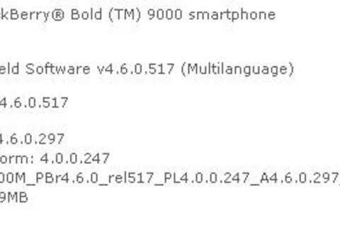 AT&T Officially Releases Bold OS 4.6.0.297 ... Again