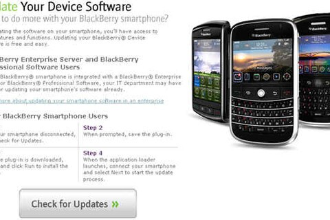 BlackBerry Device Software Web Update Now Working with Firefox - Finally!!!!