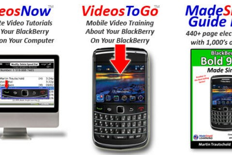 Made Simple Learning Training Center for BlackBerry Bold 9700 and Curve 8500 Series Now Available