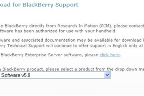 BlackBerry Desktop Manager Version 5.0.0.8 Officially Available to Download for All
