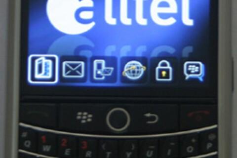 Alltel Wireless BlackBerry Tour 9630 Now Available