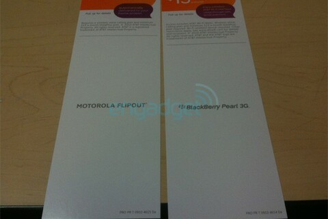 AT&T to finally get the Pearl 3G and Curve 3G October 3rd?