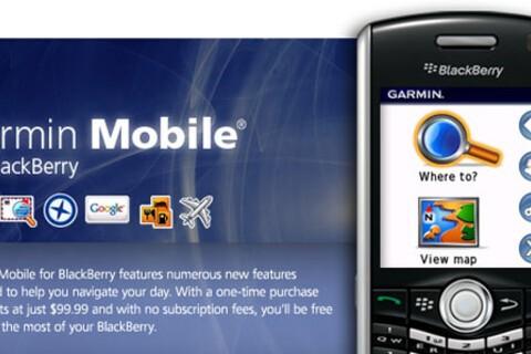 Review: Garmin Mobile for BlackBerry Smartphones