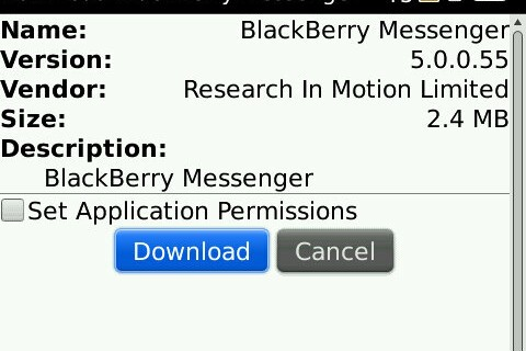 BlackBerry Messenger 5.0.0.55 Now Officially Available for Download