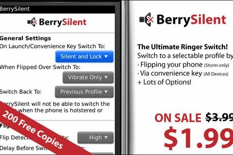 Contest: 200 Free Copies of BerrySilent