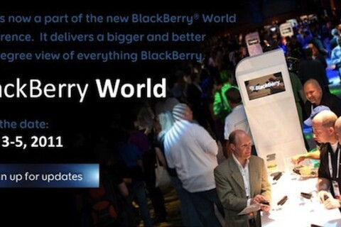 RIM renames WES as BlackBerry World conference