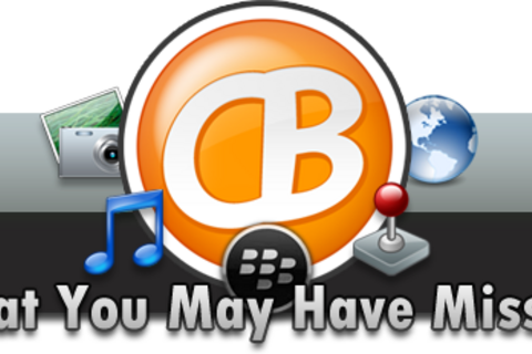 CrackBerry Reminder: What you may have missed this week