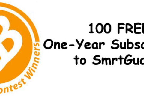Contest Winners: 100 FREE 1-Yr Subscriptions to SmrtGuard!