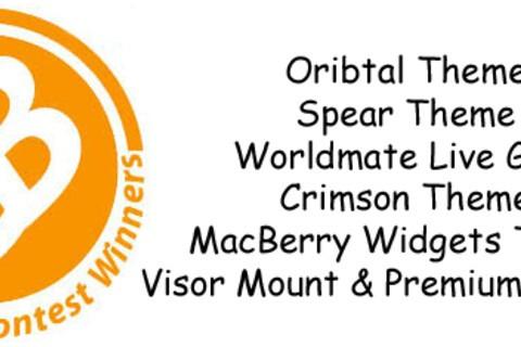 Contest Winners: Worldmate Live, Premium Themes, Textender & More