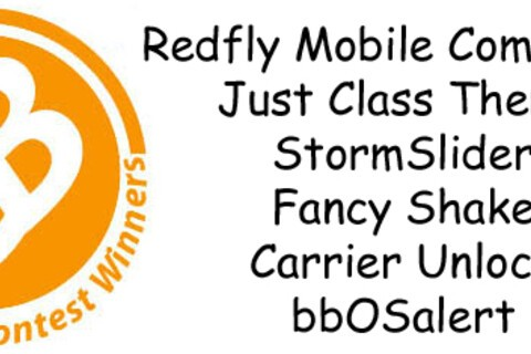 Contest Winners: RedFly Mobile Companion, StormSlider, Unlock Codes and More