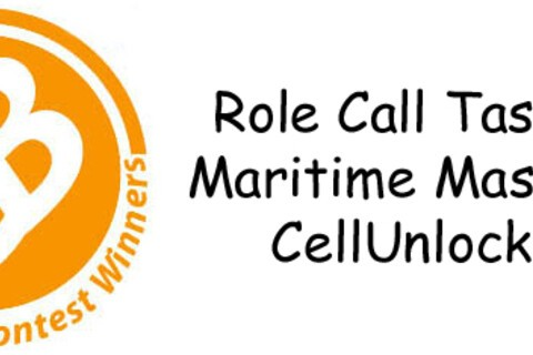 Contest Winners: Role Call Tasks, Cellunlock & Maritime Master
