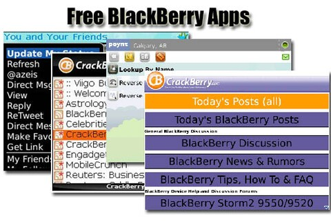 New BlackBerry Smartphone Owner? Here Are Some Free Apps to Check Out