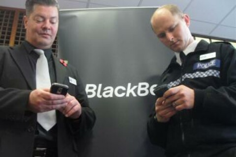 BlackBerry smartphones save UK Police £112m per year