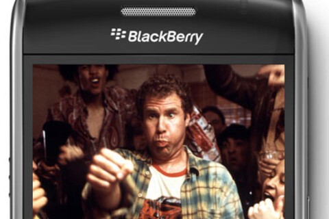 Entertaining  with your BlackBerry Smartphone