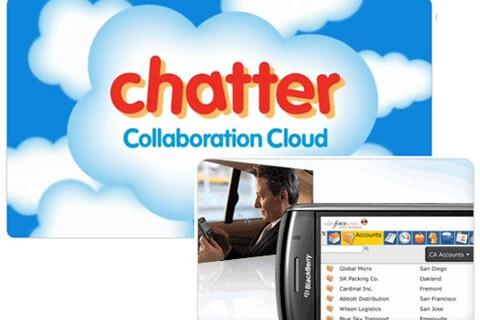Salesforce.com announces Chatter Mobile app for smartphones