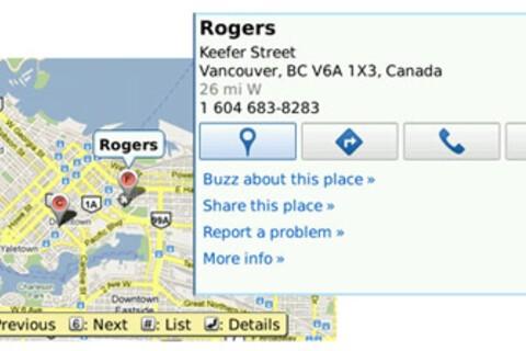 BlackBerrys and biker shorts! Google Maps get updated to version 4.2