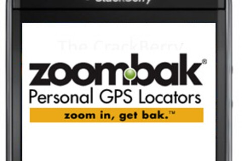 Zoombak tracking application for BlackBerry now available in BlackBerry App World