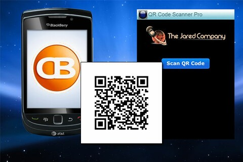 QR Code Scanner Pro for BlackBerry