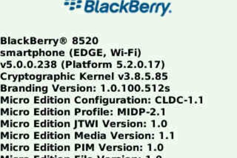 Leaked: OS 5.0.0.238 for the BlackBerry Curve 8520!