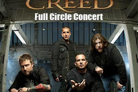 Watch the CREED Concert Tonight LIVE On Your BlackBerry - We Have 250 Free Passes - 1st Come 1st Served!!