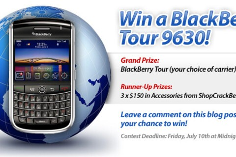Contest: Win a BlackBerry Tour 9630 from CrackBerry.com!