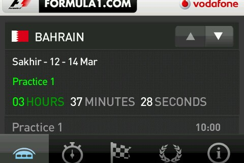 Formula 1 Season Kicks Off Today - Download the Free Official Live Timing App for BlackBerry Smartphones!