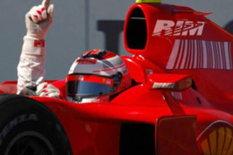 Research in Motion to Sponsor Formula 1?