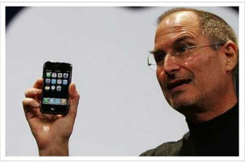 Thanks Steve! Apple's iPhone to boost BlackBerry sales