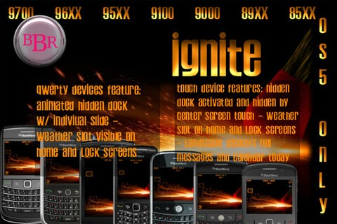 Ignite your device with a great free theme by BuiltByRequest
