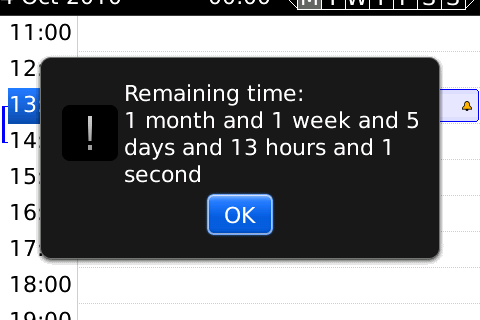 Rendezvous helps manage deadlines with your native calendar - 50 free copies up for grabs