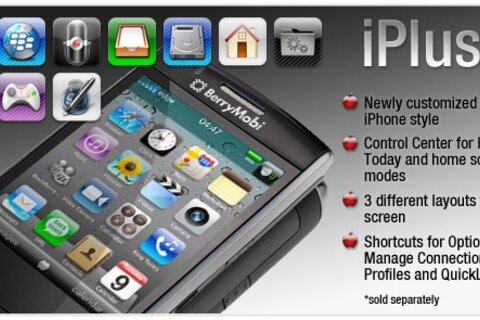 iPlus4 by BerryMobi - A fresh new look for your BlackBerry, on sale now!