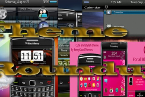BlackBerry theme roundup for Aug 30th, 2010 - 25 copies of HTC Incredible to be won!