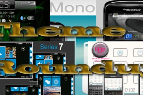 BlackBerry theme roundup for July 20th, 2010 - 25 copies of MONO to be won!