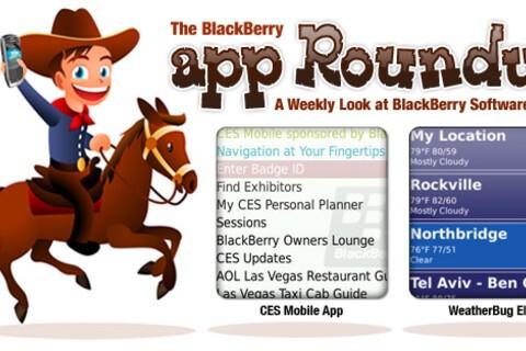 BlackBerry App Roundup for January 8th, 2010!