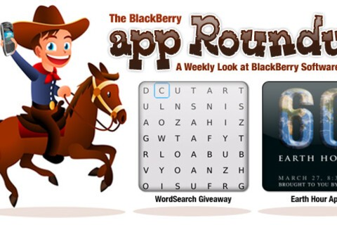 BlackBerry App Roundup for March 19th, 2010; Contest: 25 Copies of WordSearch to be Won!