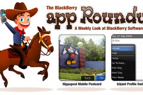 BlackBerry App Roundup for September 25th, 2009!