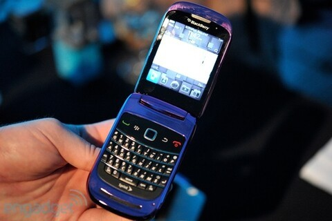 Research In Motion now showing off the BlackBerry Style before it hits stores