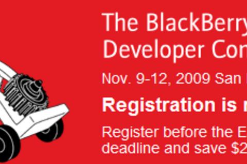 BlackBerry Developers Conference Registration Now Open!