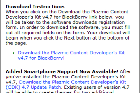 Plazmic 4.7 Updated With Tour 9630 And 8520 Support!