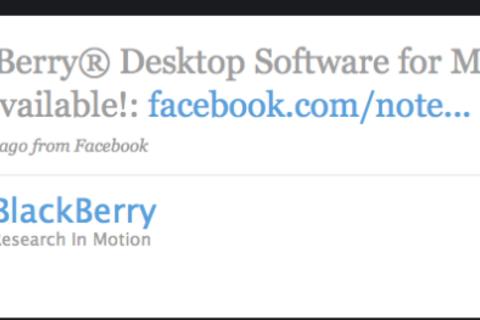 RIM Giveth Desktop Manager For Mac, Then Taketh Away!