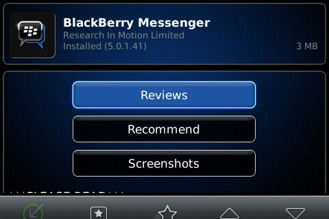 BlackBerry Messenger 5.0.1.41 now available for download