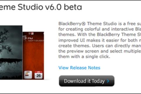 BlackBerry Theme Studio v6.0 beta 1 download now available!