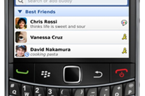 Meebo launches instant messaging application for BlackBerry